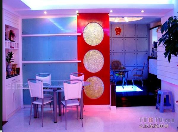 热门面积108平混搭三居餐厅装修欣赏图片厨房潮流混搭餐厅设计图片赏析