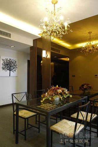 浪漫111平混搭四居餐厅装修美图厨房潮流混搭餐厅设计图片赏析