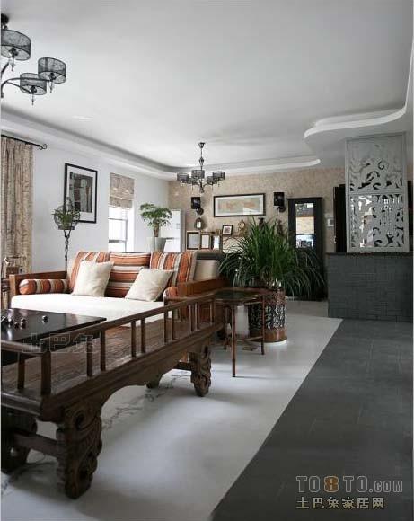精美128平方四居客厅混搭装修效果图客厅潮流混搭客厅设计图片赏析