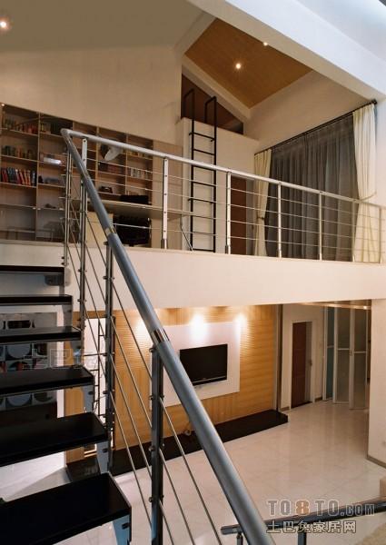 温馨47平混搭复式客厅图片欣赏客厅潮流混搭客厅设计图片赏析