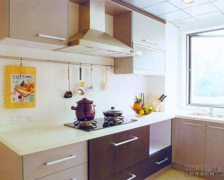 精美75平混搭复式厨房装修案例餐厅潮流混搭厨房设计图片赏析