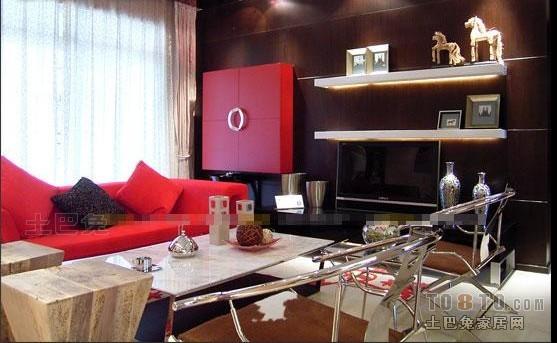 103平米三居客厅混搭效果图片客厅潮流混搭客厅设计图片赏析
