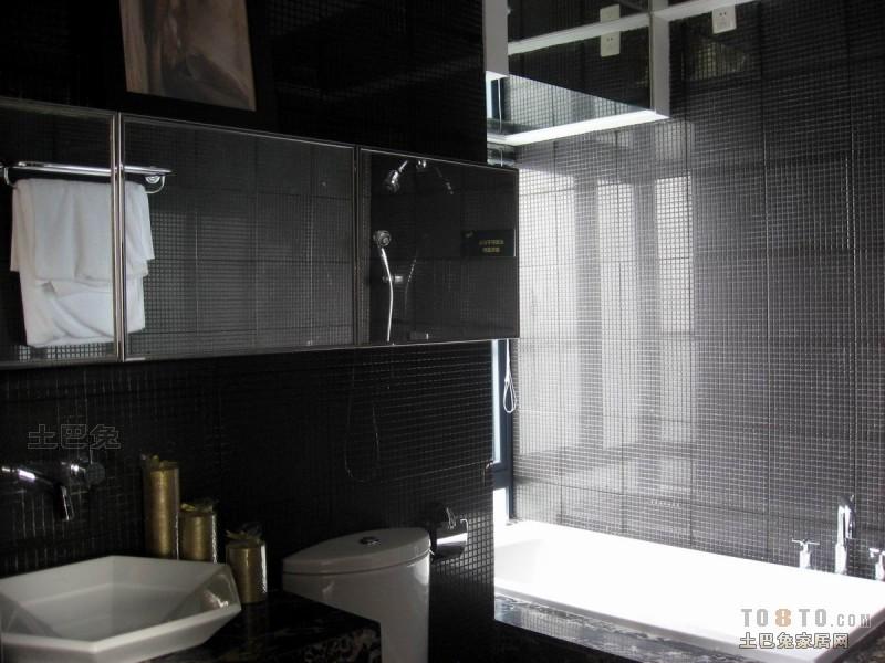 热门混搭三居卫生间实景图片欣赏卫生间潮流混搭卫生间设计图片赏析
