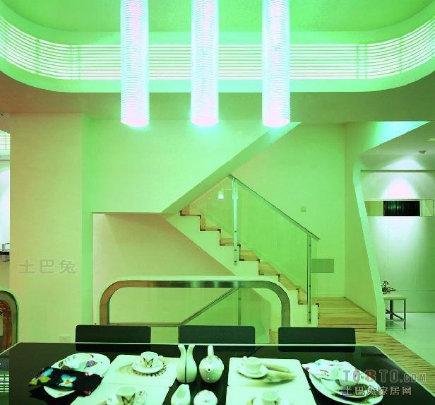 平米混搭复式餐厅欣赏图片厨房潮流混搭餐厅设计图片赏析
