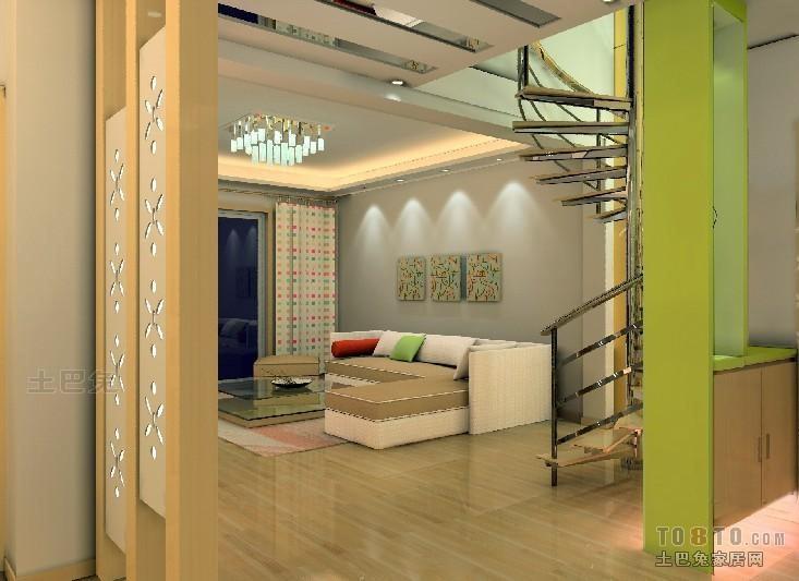 2018精选面积110平复式客厅混搭装修欣赏图客厅潮流混搭客厅设计图片赏析