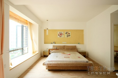 精美95平米三居卧室混搭装修欣赏图片卧室潮流混搭卧室设计图片赏析
