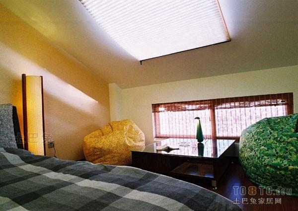 精选面积114平复式卧室混搭效果图卧室潮流混搭卧室设计图片赏析