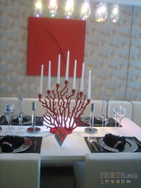 精美88平方二居餐厅混搭效果图片欣赏厨房潮流混搭餐厅设计图片赏析