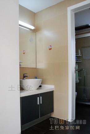 精选115平米混搭复式卫生间装饰图片大全卫生间潮流混搭卫生间设计图片赏析