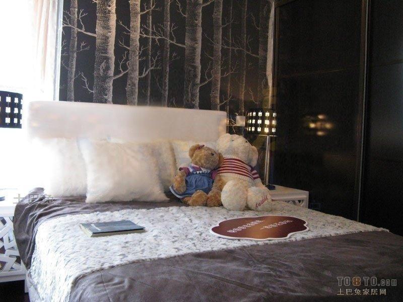 浪漫26平混搭小户型卧室设计图卧室潮流混搭卧室设计图片赏析