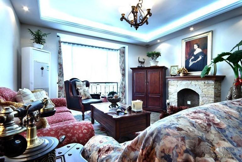 平米混搭复式客厅欣赏图客厅潮流混搭客厅设计图片赏析