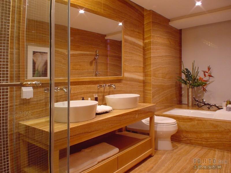 2018面积132平混搭四居卫生间装饰图片大全卫生间潮流混搭卫生间设计图片赏析