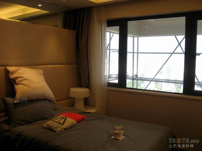 华丽67平混搭复式卧室设计图卧室潮流混搭卧室设计图片赏析