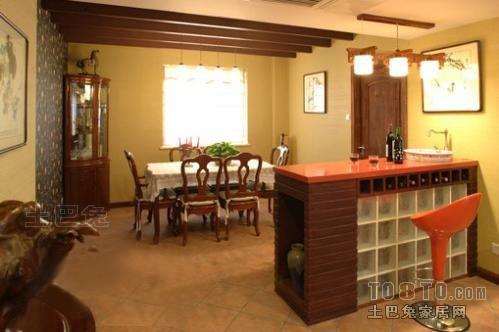 精选面积126平复式餐厅混搭装修图片大全厨房潮流混搭餐厅设计图片赏析