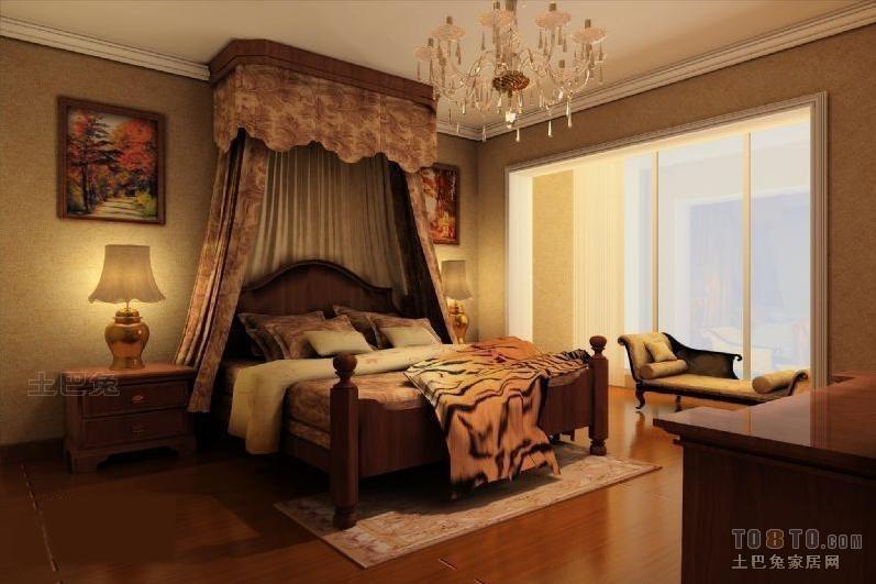 欧式卧室装修效果图卧室潮流混搭卧室设计图片赏析