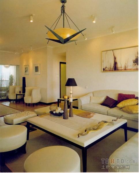 质朴97平混搭三居客厅设计美图客厅潮流混搭客厅设计图片赏析