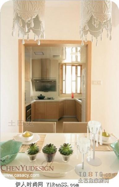 质朴111平混搭四居餐厅图片大全厨房潮流混搭餐厅设计图片赏析