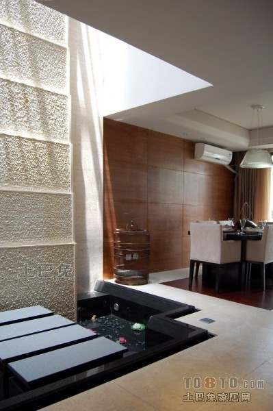 中式现代餐厅厨房潮流混搭餐厅设计图片赏析