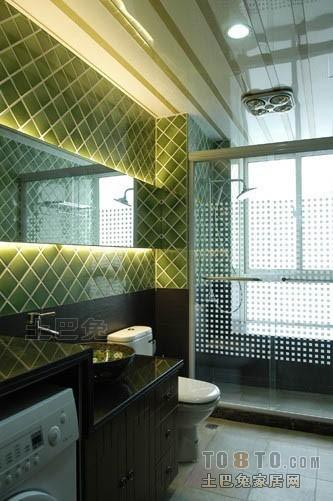 轻奢125平混搭四居卫生间布置图卫生间潮流混搭卫生间设计图片赏析