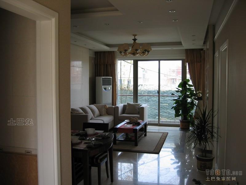 精美混搭3室客厅装修设计效果图片103平客厅潮流混搭客厅设计图片赏析
