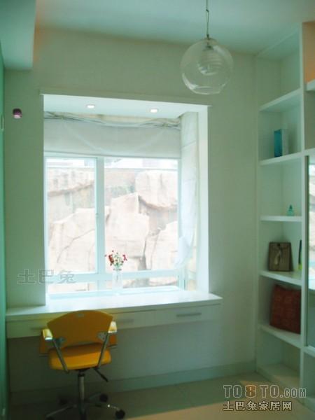 精美100平米三居书房混搭装修效果图功能区潮流混搭功能区设计图片赏析