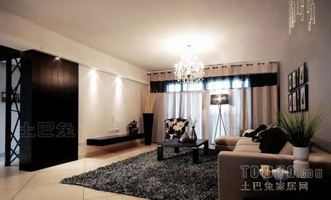 热门面积137平混搭四居客厅装修效果图片客厅潮流混搭客厅设计图片赏析