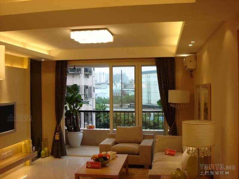 典雅80平混搭二居客厅装饰图片客厅潮流混搭客厅设计图片赏析
