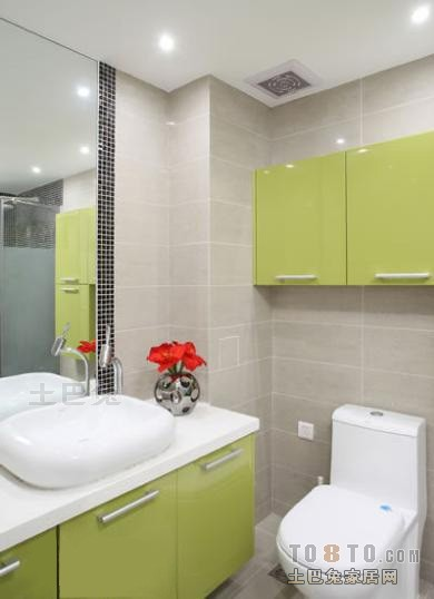 典雅31平混搭小户型卫生间装修案例卫生间潮流混搭卫生间设计图片赏析