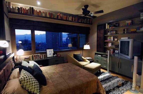 精美96平混搭三居卧室图片大全卧室潮流混搭卧室设计图片赏析