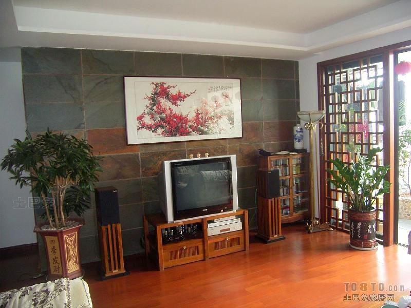 中式混搭客厅装修效果图大全客厅潮流混搭客厅设计图片赏析