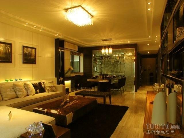 大小81平混搭二居客厅装修实景图片客厅潮流混搭客厅设计图片赏析