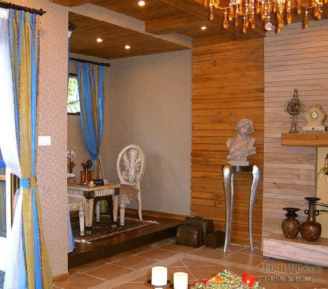 128平米混搭复式客厅装修实景图片大全客厅潮流混搭客厅设计图片赏析