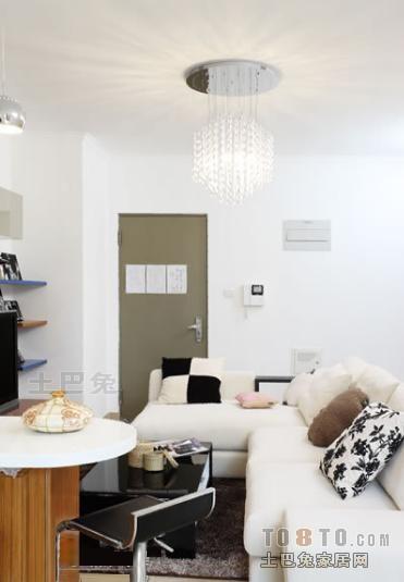 优美39平混搭小户型客厅装修效果图客厅潮流混搭客厅设计图片赏析