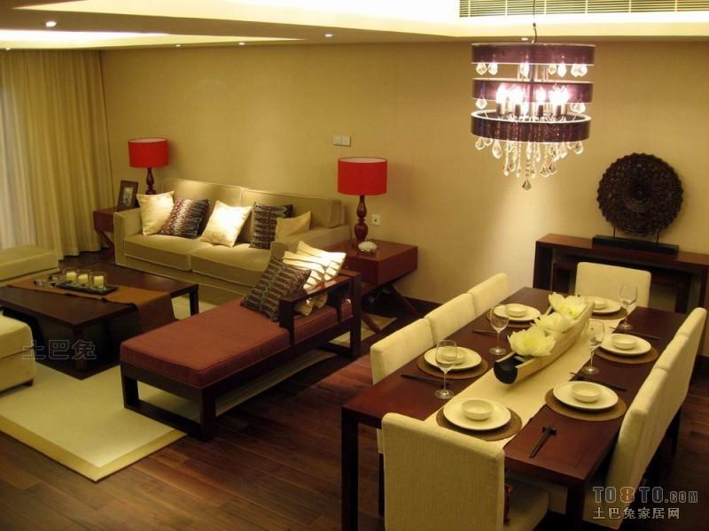 优雅81平混搭复式客厅装饰美图客厅潮流混搭客厅设计图片赏析