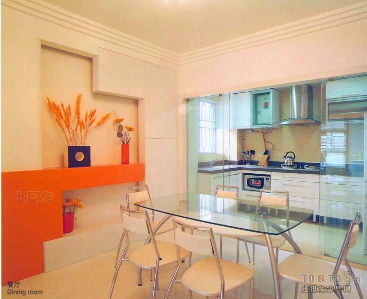 平米混搭复式餐厅装修效果图厨房潮流混搭餐厅设计图片赏析