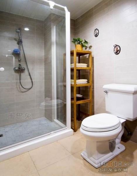 精美混搭复式卫生间装修图卫生间潮流混搭卫生间设计图片赏析