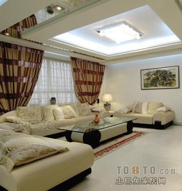 华丽60平混搭复式客厅设计图客厅潮流混搭客厅设计图片赏析
