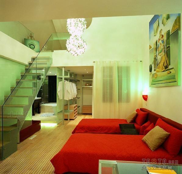 热门112平米混搭复式卧室装饰图片卧室潮流混搭卧室设计图片赏析