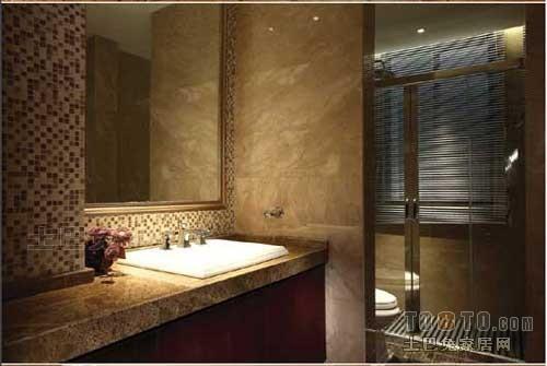 精选面积132平混搭四居卫生间装饰图卫生间潮流混搭卫生间设计图片赏析