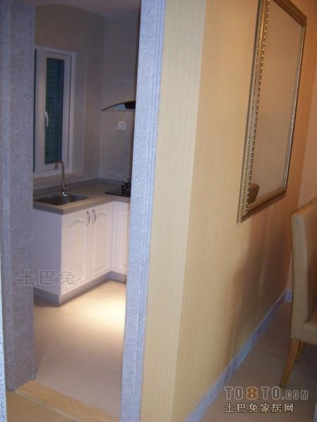 精选105平米三居厨房混搭效果图餐厅潮流混搭厨房设计图片赏析