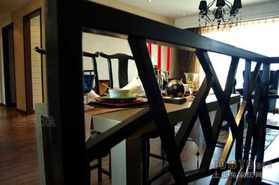 精选92平方三居餐厅混搭实景图片欣赏厨房潮流混搭餐厅设计图片赏析