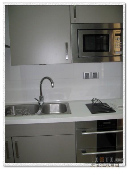 精选105平米三居厨房混搭装修欣赏图片餐厅潮流混搭厨房设计图片赏析
