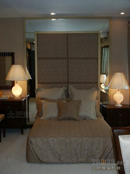 精美139平米四居卧室混搭效果图卧室潮流混搭卧室设计图片赏析