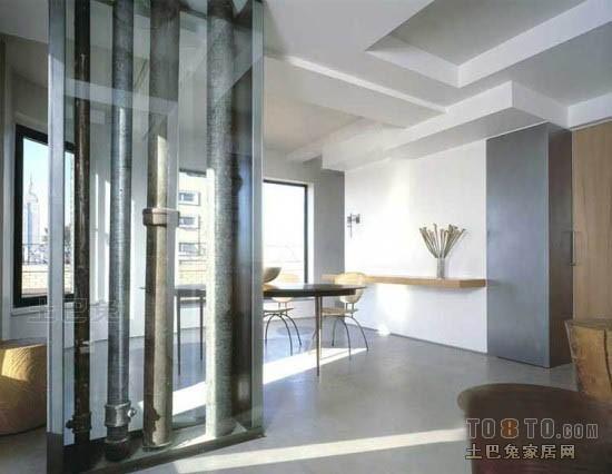 热门113平米混搭复式餐厅装修实景图片厨房潮流混搭餐厅设计图片赏析