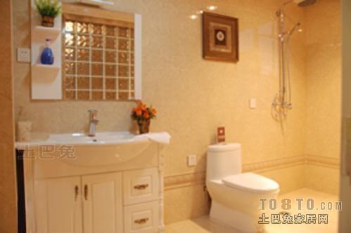 悠雅84平混搭三居卫生间装修装饰图卫生间潮流混搭卫生间设计图片赏析