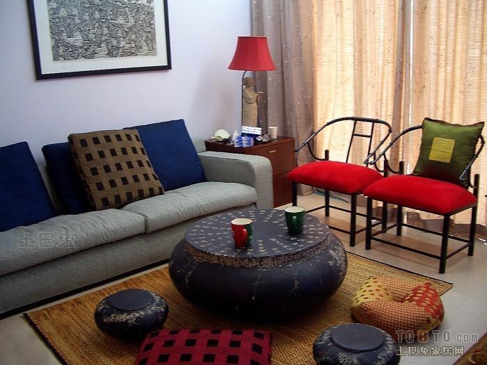热门三居客厅混搭装修效果图片客厅潮流混搭客厅设计图片赏析