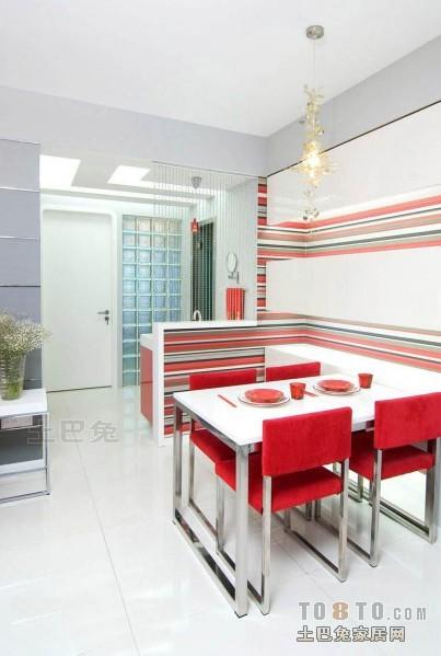 平混搭三居餐厅装饰美图厨房潮流混搭餐厅设计图片赏析