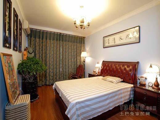 精美面积94平混搭三居卧室装修图片欣赏卧室潮流混搭卧室设计图片赏析