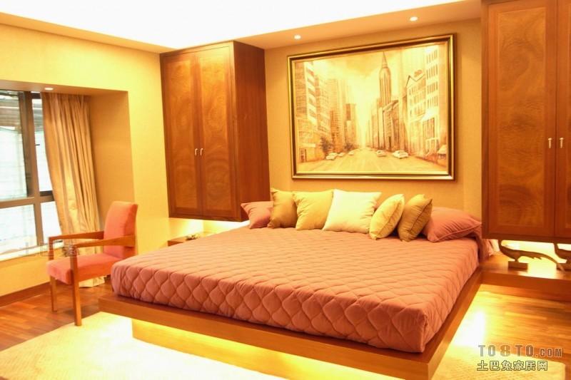 精美面积129平复式卧室混搭装修设计效果图片大全卧室潮流混搭卧室设计图片赏析
