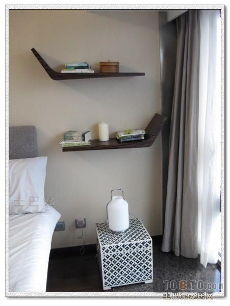明亮94平混搭四居卧室装饰图卧室潮流混搭卧室设计图片赏析
